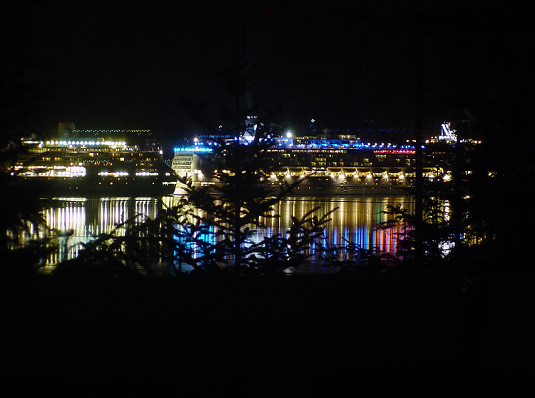 The Lights of Cruise Ships.