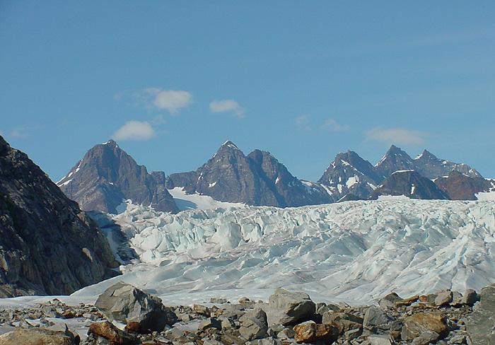 At the 2000 ft. Elevation of Herbert Glacier.