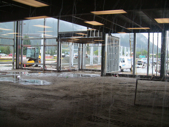 Construction At The Juneau International Airport The