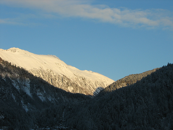 Mt. Juneau Ridge in Sunshine.