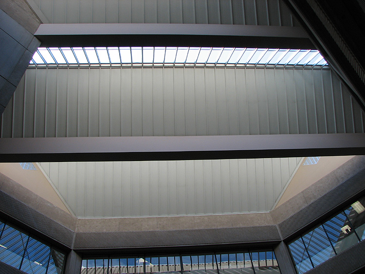 Top of the Atrium - State Office Building - Juneau.