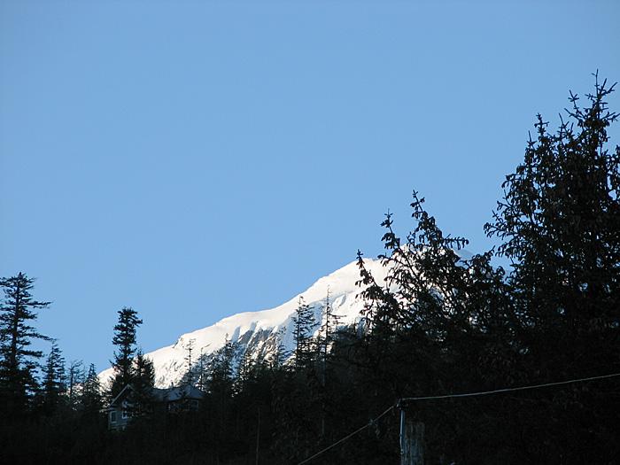 Mt. Bradley (Mt. Jumbo) from Nowell Avenue.