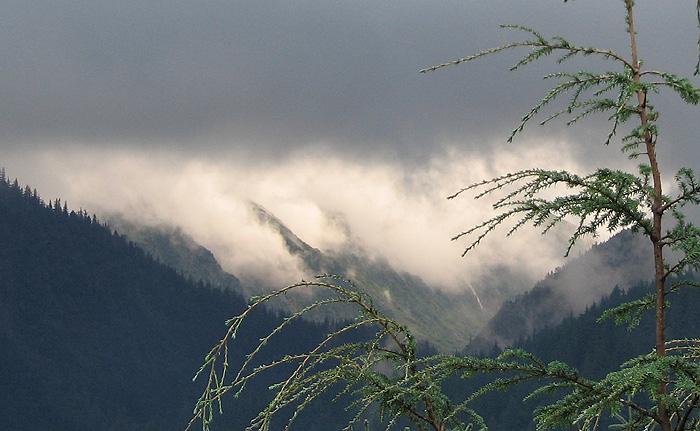 6:58 A.M. Alaska Daylight Time.