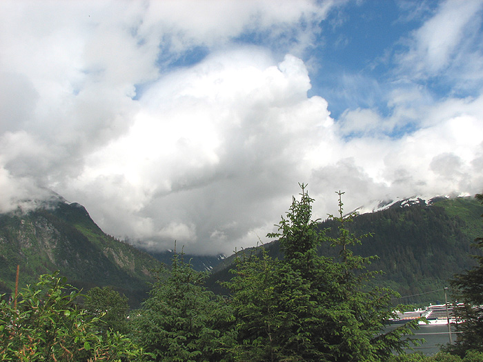 Looking NE from West Juneau.