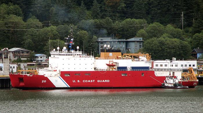 U.S.C.G. Icebreaker Healy in Juneau