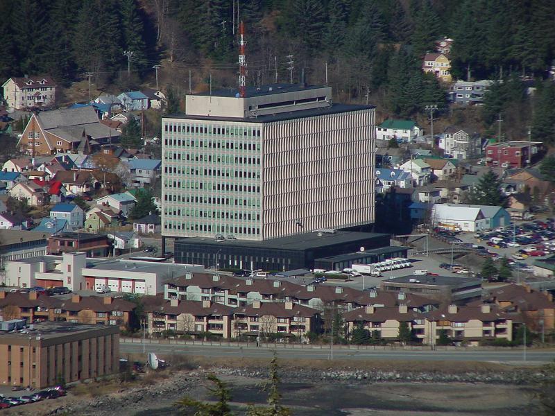 Federal Building and Vicinity, Juneau, Alaska